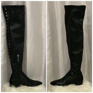 ✅Zara thigh high boots size 8